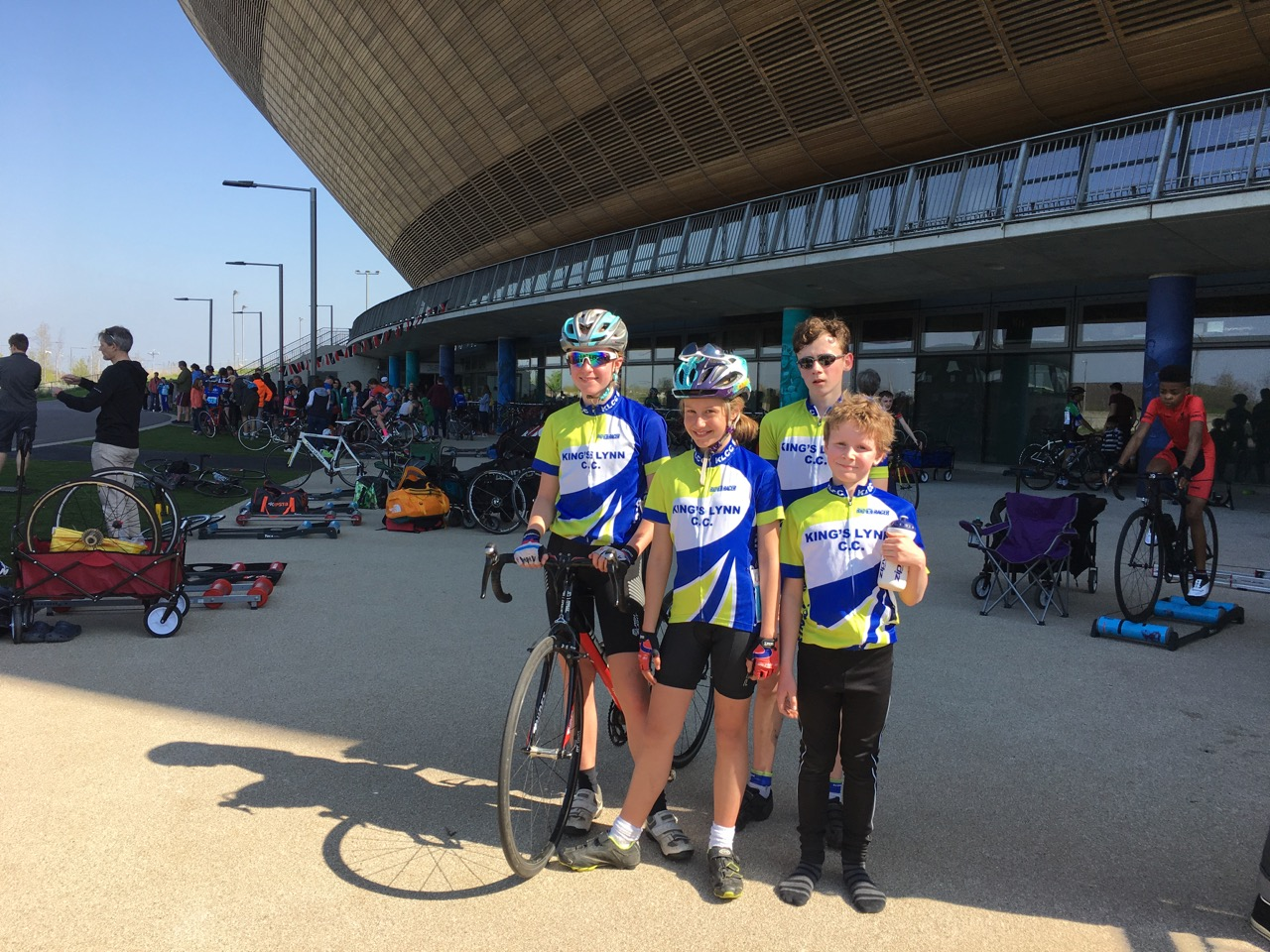 ERYCS Round 1 at Lea Valley Velopark